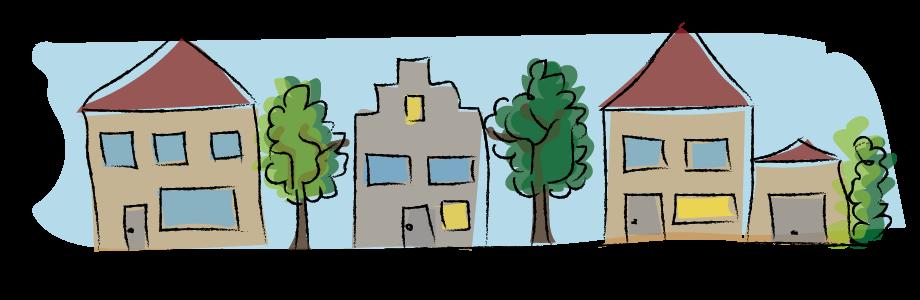 het dorp en de stad, aardrijkskunde, basisonderwijs
