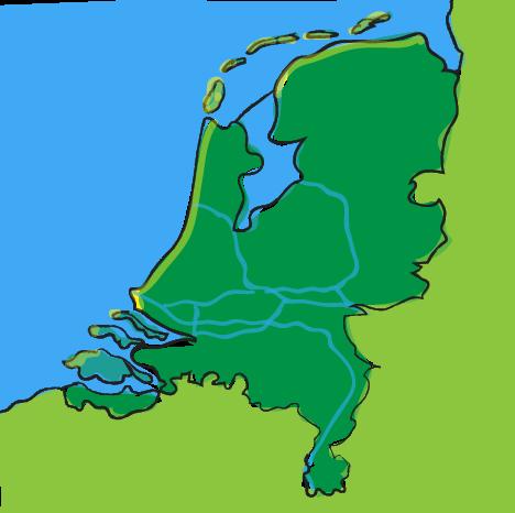 Nederland, waterland