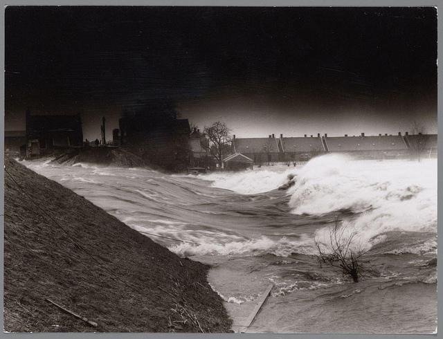 watersnoodramp 1953, Nederland, aardrijkskunde oefenen