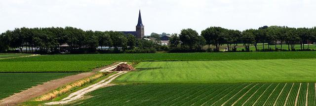 Nederland is een vlak lang, vervlakking, aardrijkskunde oefenen voor het basisonderwijs