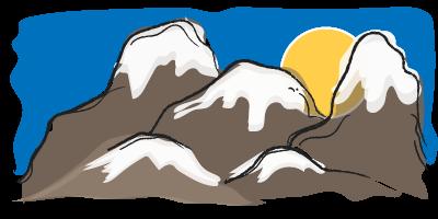 Het ontstaan van bergen, aardrijkskunde online oefenen, gebergten
