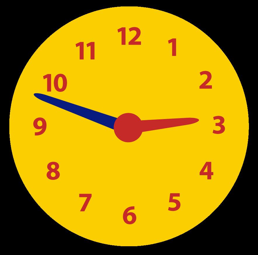 Klokkijken met minuten. Hoeveel minuten voor het hele uur?