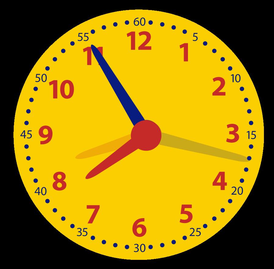 Minuten uitrekenen. Hoeveel minuten zijn er voorbij? Leren klokkijken.