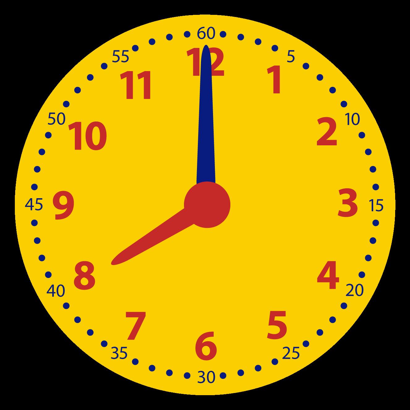 Welke digitale klok hoort bij de analoge klok? Samenhang tussen de analoge en digitale klok.