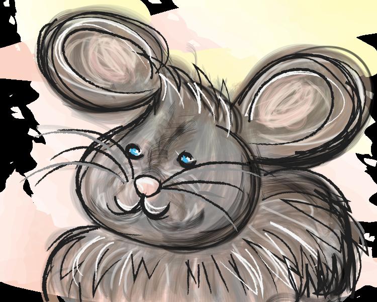 Zo stil als een muis.