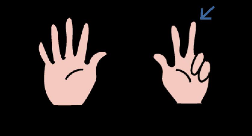 verder tellen op je vingers, vingerbeelden herkennen om het tellen te automatiseren