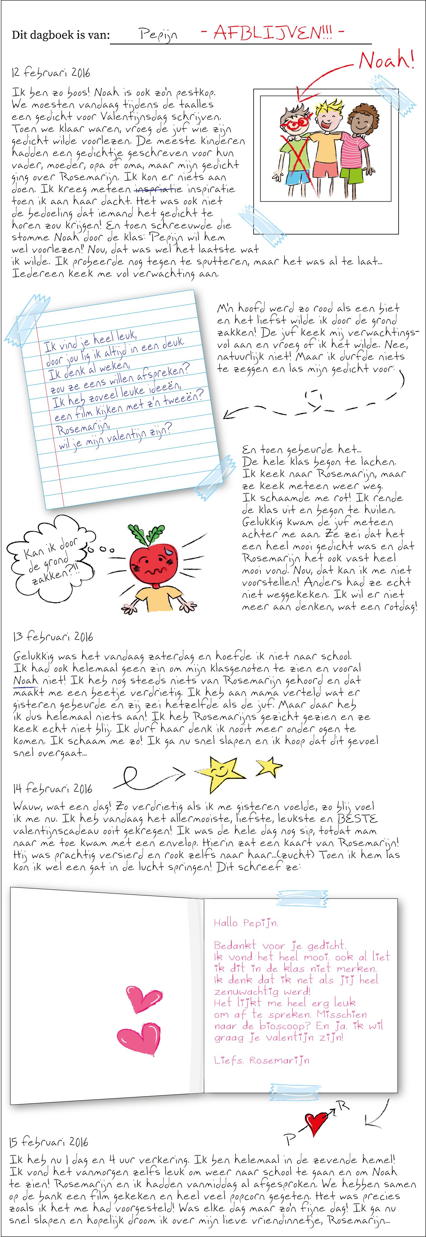 Begrijpend Lezen groep 8 - Dagboek van Pepijn