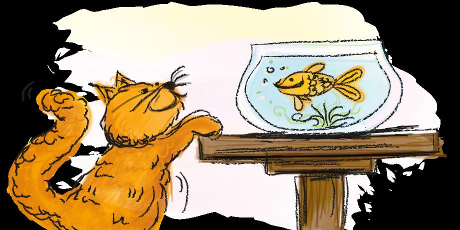 Begrijpend lezen voor groep 3, mkm-woorden, de vis, online oefenen