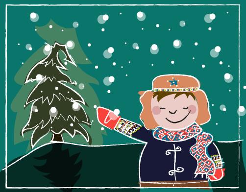 kerstviering, kerstfeest, kerstverlichting, kerst, begrijpend lezen oefenen
