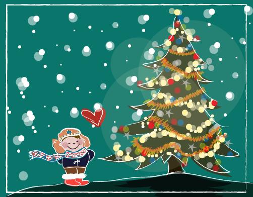 kerst, kerstviering, kerstversiering, begrijpend lezen oefenen