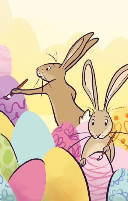 begrijpend lezen voor groep 3 online oefenen. Leuke teksten voor Pasen