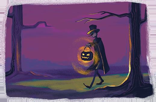 Begrijpend lezen - Jack met de lantaarn - Jack O'Lantern