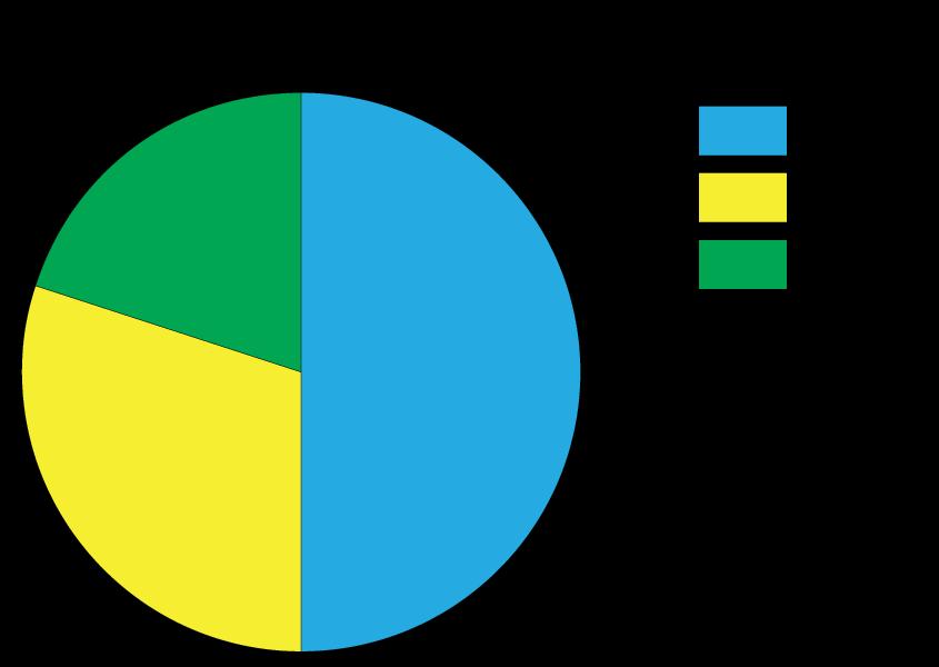 tabellen en grafieken, cirkeldiagram