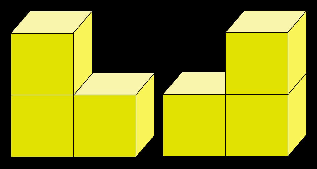 blokkenbouwsels en plattegronden, cito oefenen, groep 8
