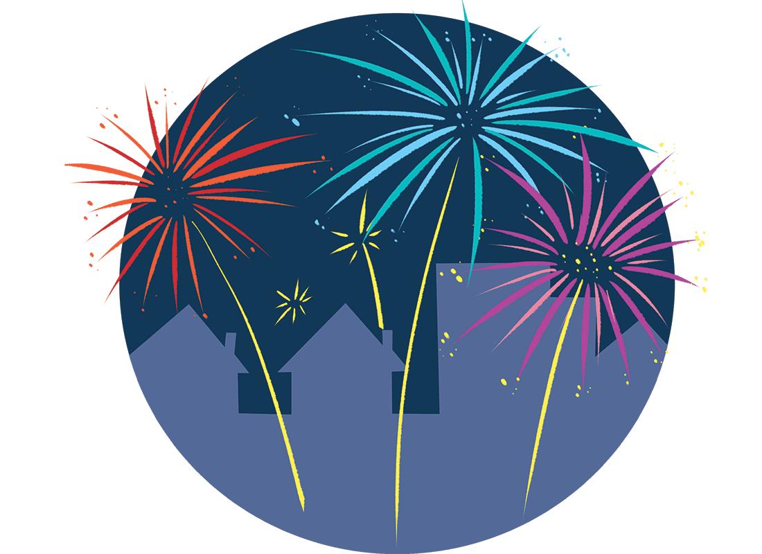 nieuwjaar! rekenen op de kalender.