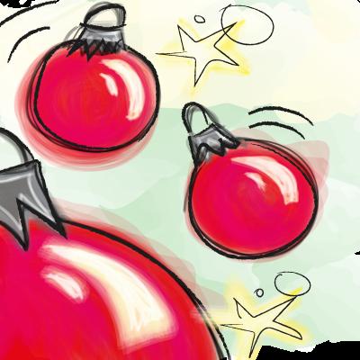 kerst, kerstballen, kerstviering, begrijpend lezen oefenen