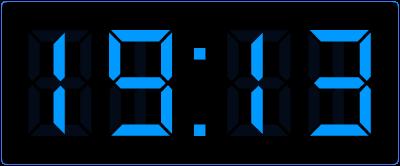 Klokkijken in de bovenbouw. Online digitale klok oefenen.