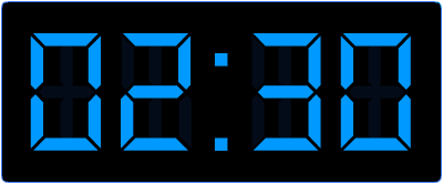 Leren klokkijken op de digitale en analoge klok.