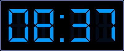 Leren klokkijken op de analoge klok en de digitale klok.