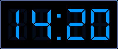 Leren klokkijken op de digitale klok