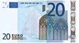 geldrekenen, briefje van 20