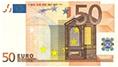 geldbedragen, briefje van 50 euro
