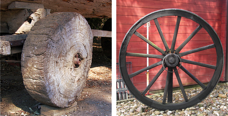 Tijdvak van jagers en boeren - Uitvinding van het wiel