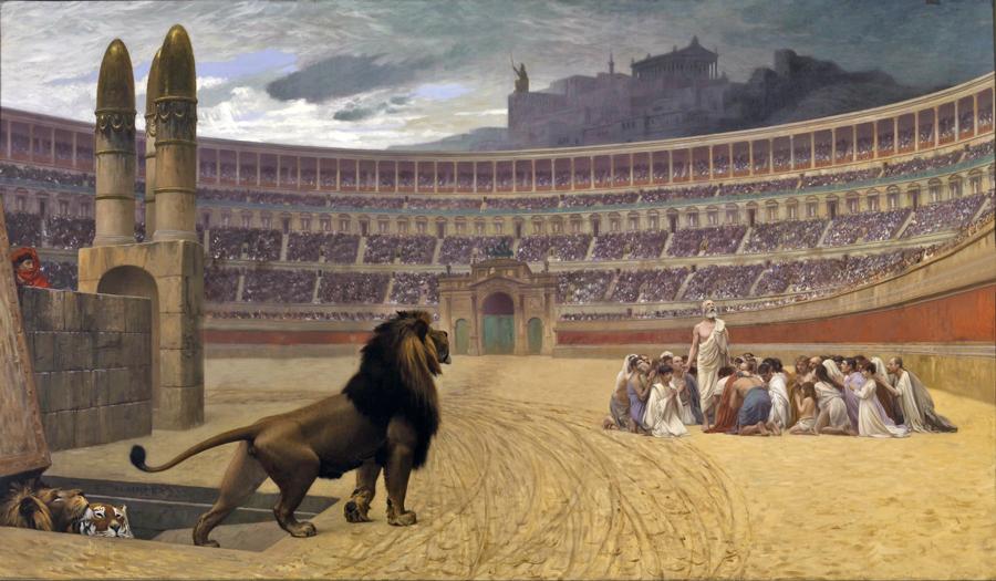 Tijd van de Grieken en Romeinen - Amfitheater - Gladiatoren - Colosseum
