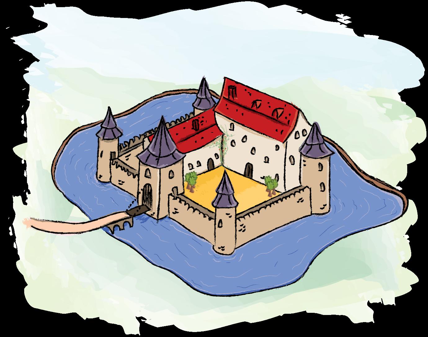 Tijd van monniken en ridders - Het kasteel