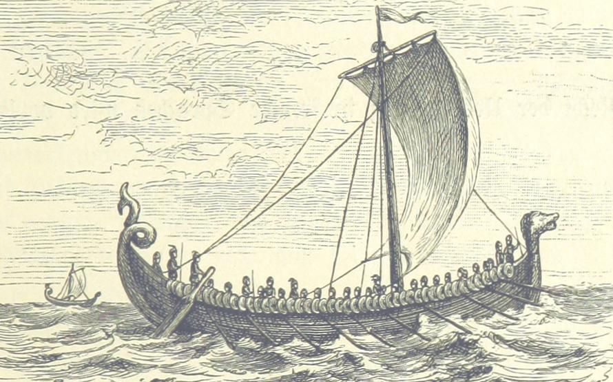 Tijd van monniken en ridders - Viking - Drakenboot