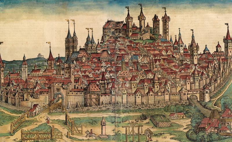 Tijd van steden en staten - Verdediging van de stad