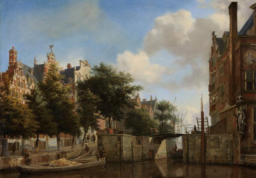 Tijd van steden en staten - De grachtengordel - Amsterdam - Gouden Eeuw