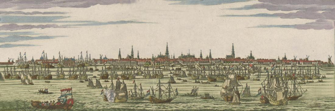 Tijd van regenten en vorsten - Aanleg van de grachtgordel in 1613 in Amsterdam - Gouden Eeuw