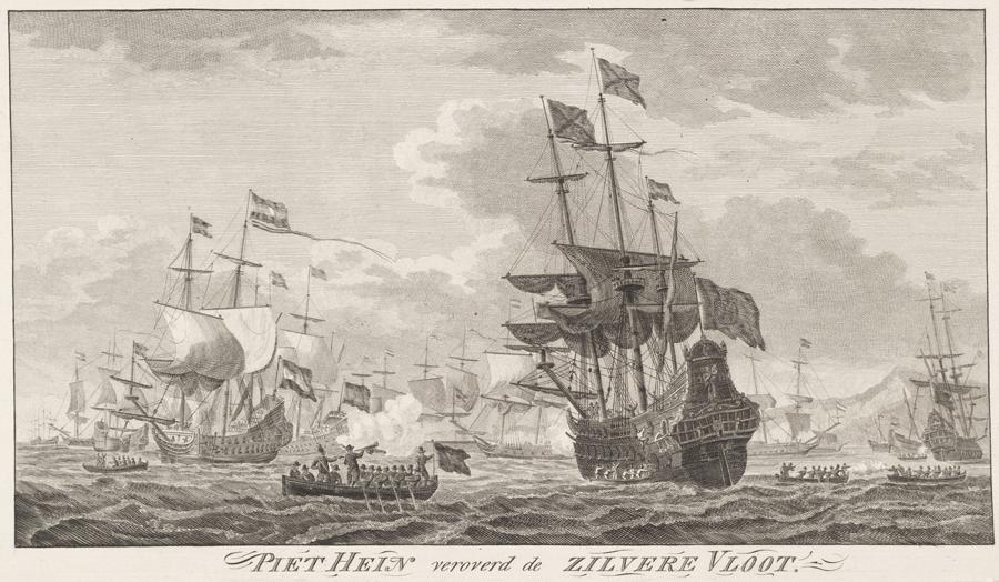 Tijd van de regenten en vorsten - Verovering van de Zilvervloot