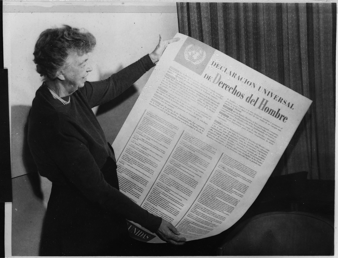 Tijdvak televisie en computer - Universele verklaring van de rechten van de mens