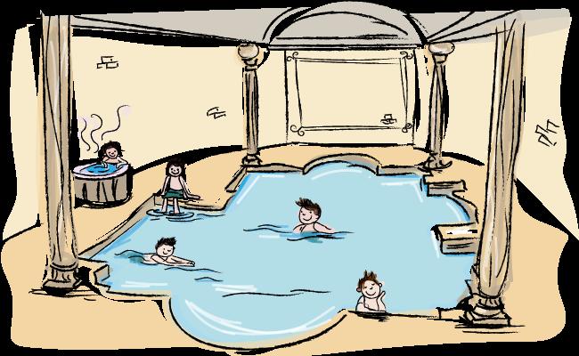 Het badhuis - Tijd van Grieken en Romeinen