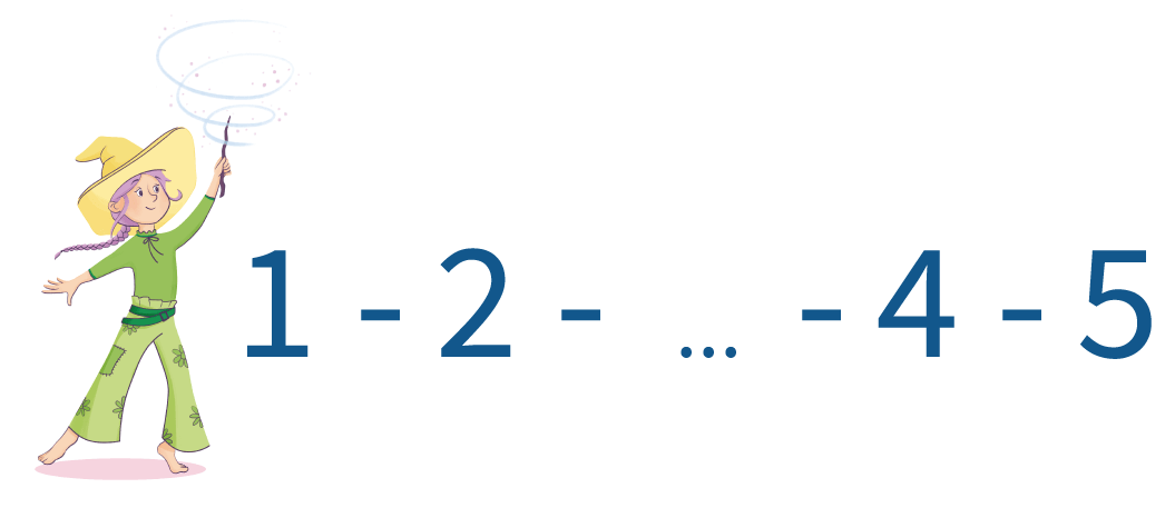 cijfers, tellen, kleuters, groep 1, groep 2, reeksen