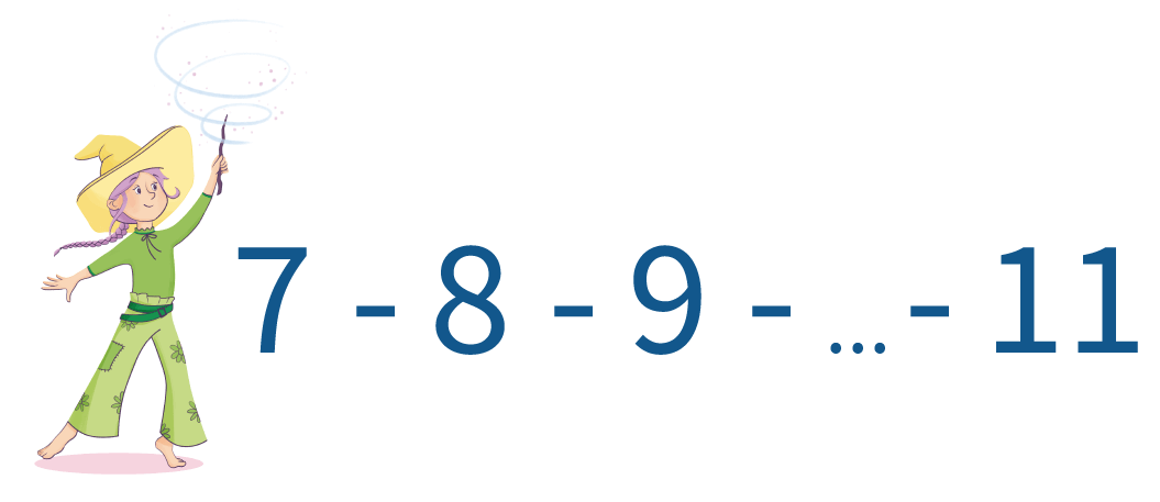 cijfers, tellen, kleuters, groep 1, groep 2, reeksen tellen tot 20