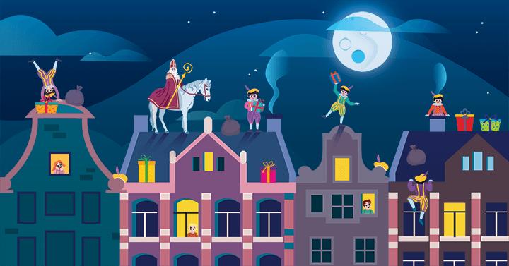kleuters, Sinterklaas, zoekplaat, letters, cijfers, kleuren, groep 1, groep 2