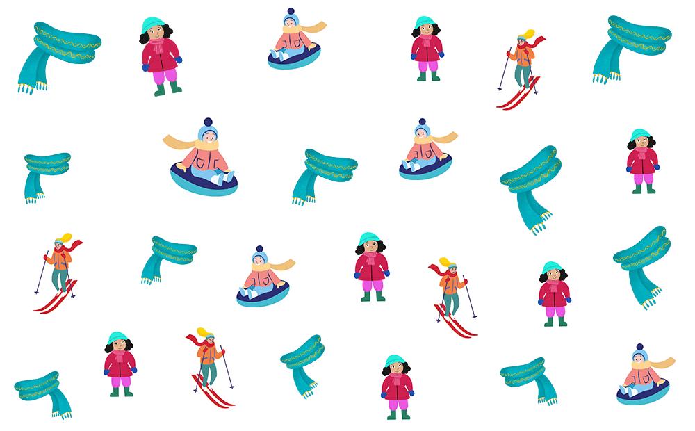 junior einstein, kleuters, tellen, getallen, winter