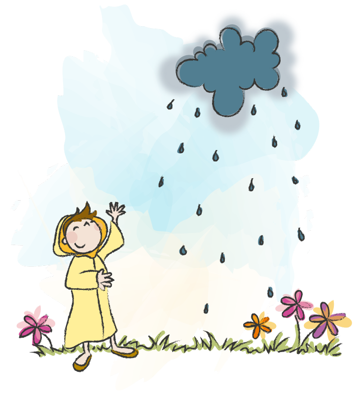 Wolk, Elia, regen
