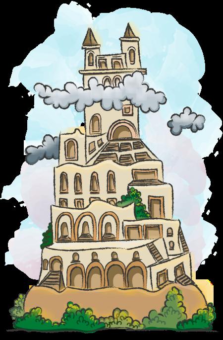 De toren van Babel.