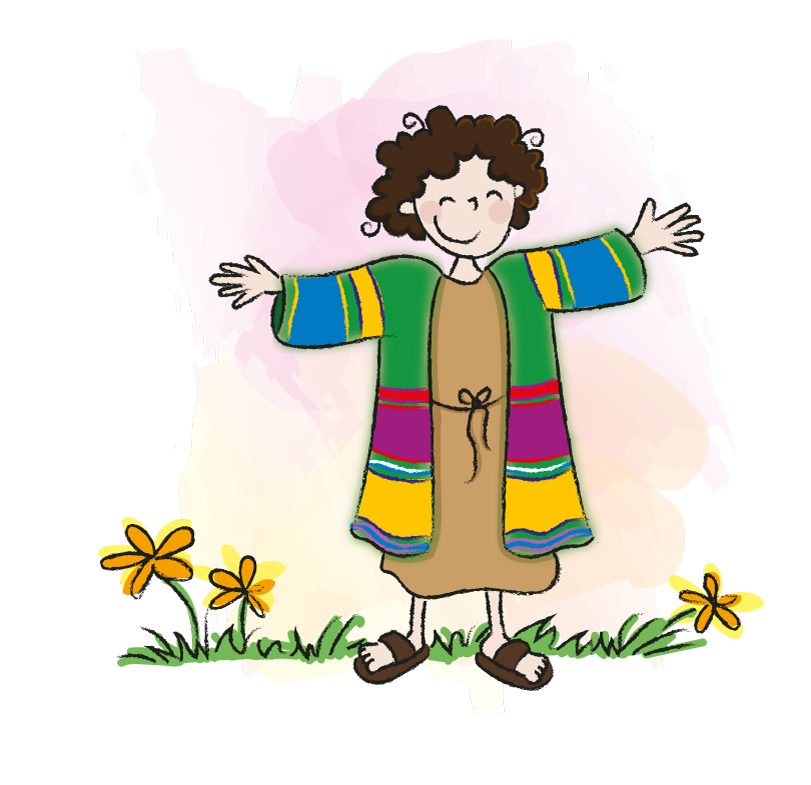 Jozef en de mooie jas, Bijbelse verhalen voor het jonge kind