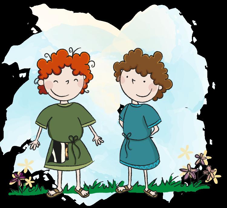 Jakob en Esau, kinderbijbel, Bijbelse verhalen voor het jonge kind