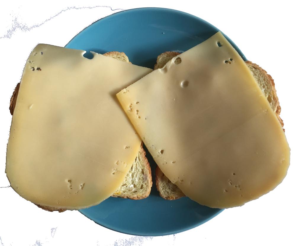 Kaas op je boterham