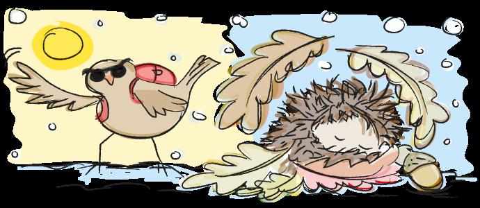 vogels, vogeltrek, natuuronderwijs, techniekonderwijs, oefenen