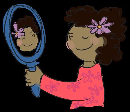 spiegelbeeld, wat is een spiegel? natuuronderwijs online oefenen voor het basisonderwijs