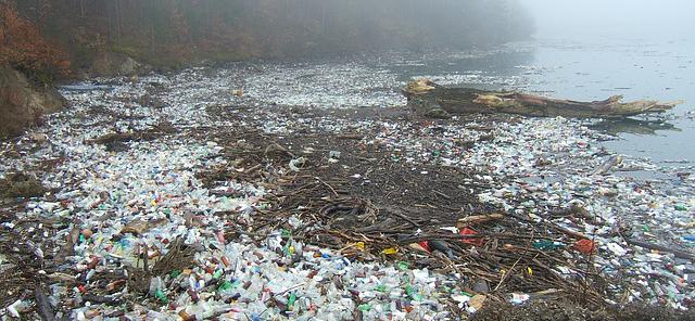 vervuiling van het water