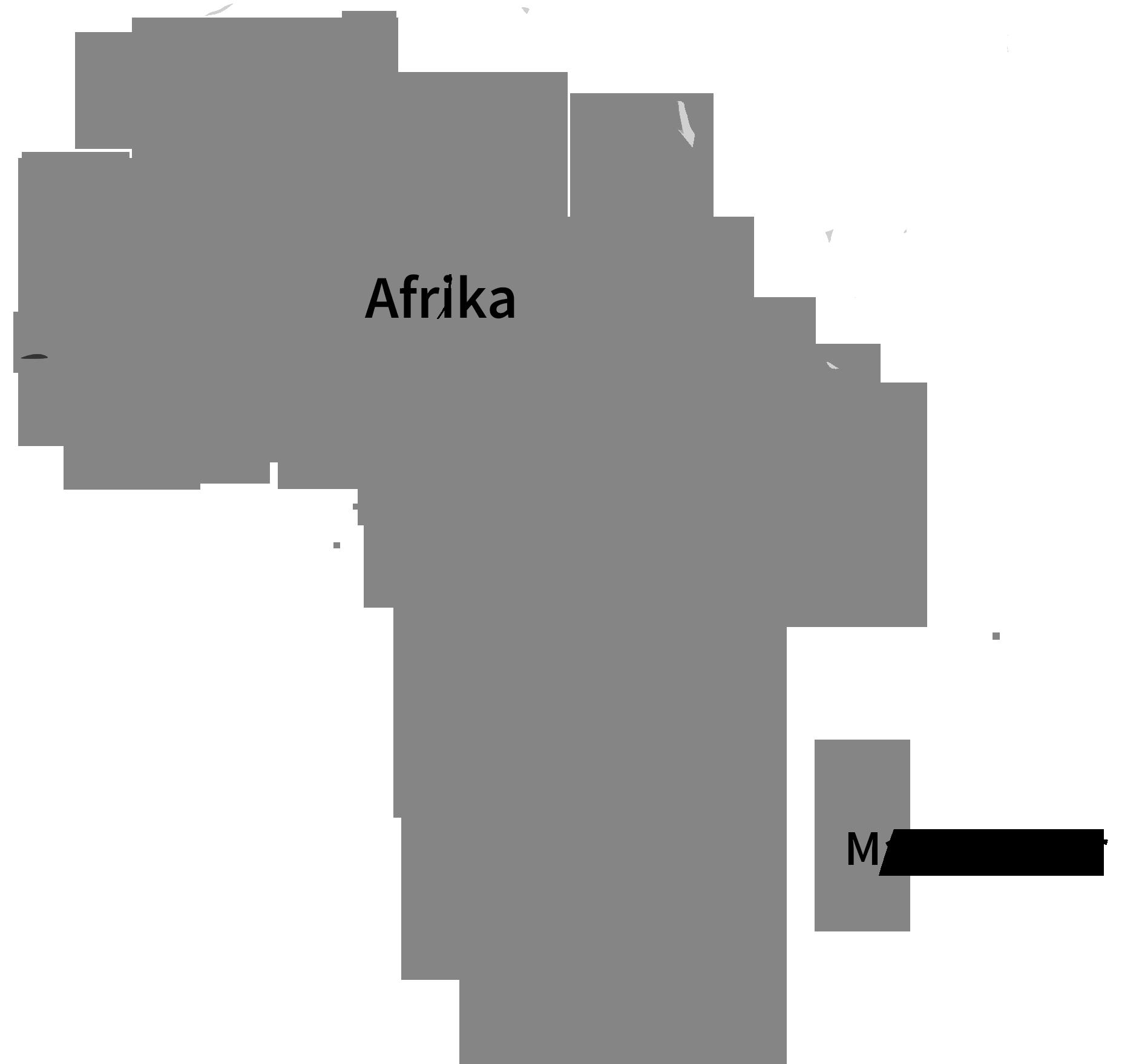Madagaskar - Afrika