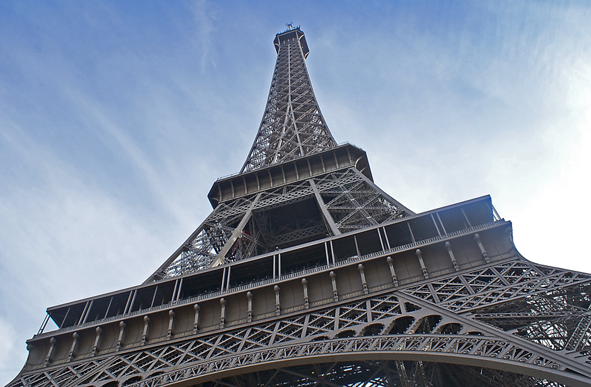Natuur en techniek - Sterke constructies - De Eiffeltoren